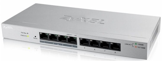 8-Port Web Managed PoE Gigabit Switch