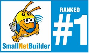 SmallNetBuilder Ranked #1