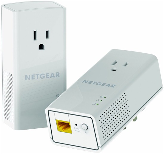 NETGEAR Powerline 1200 + Extra Outlet