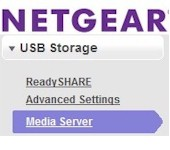 NETGEAR USB Storage
