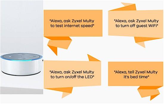 Amazon Alexa makes managing Multy X easy