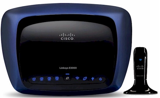 Cisco Linksys E3000 and AE1000 USB adapter