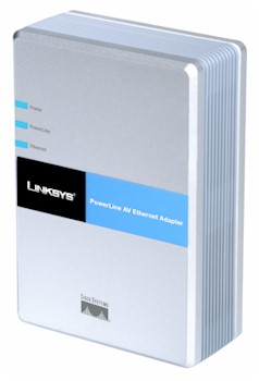 Linksys PLE200 PowerLine AV Ethernet Adapter