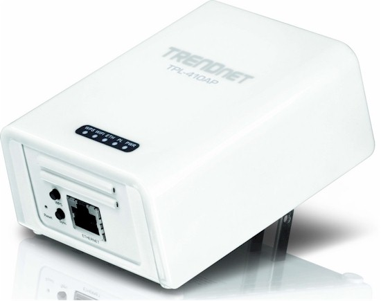 TRENDnet TPL-410AP 500Mbps Powerline AV Wireless N Access Point