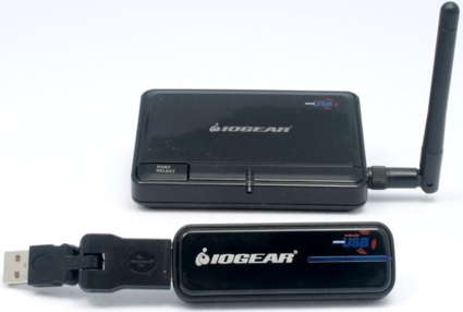 IOGEAR Wireless USB combo