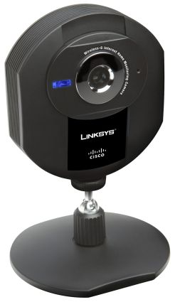 WVC54GCA Wireless-G Internet Home Monitoring Camera with Audio