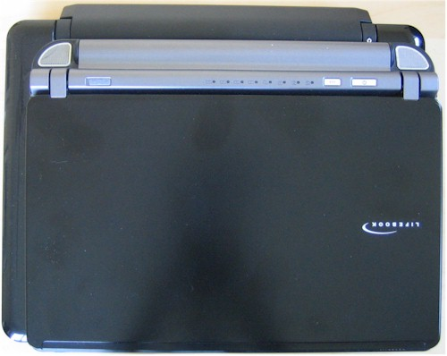 Fujitsu P7120 on top of the Mini 12