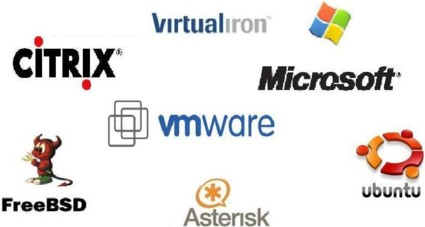 Virtualization logos