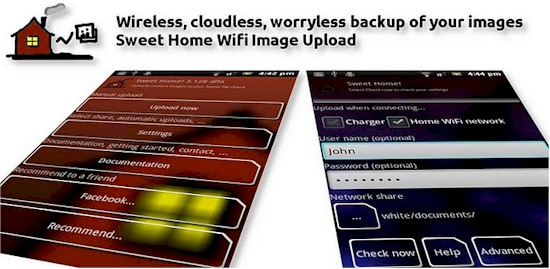 Sweet Home WiFi Picture Backup