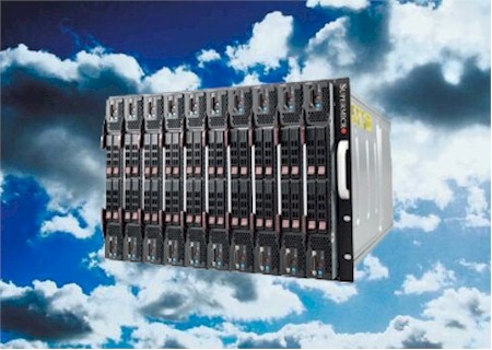 Server in the cloud