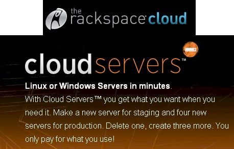 Rackspace cloud server pitch