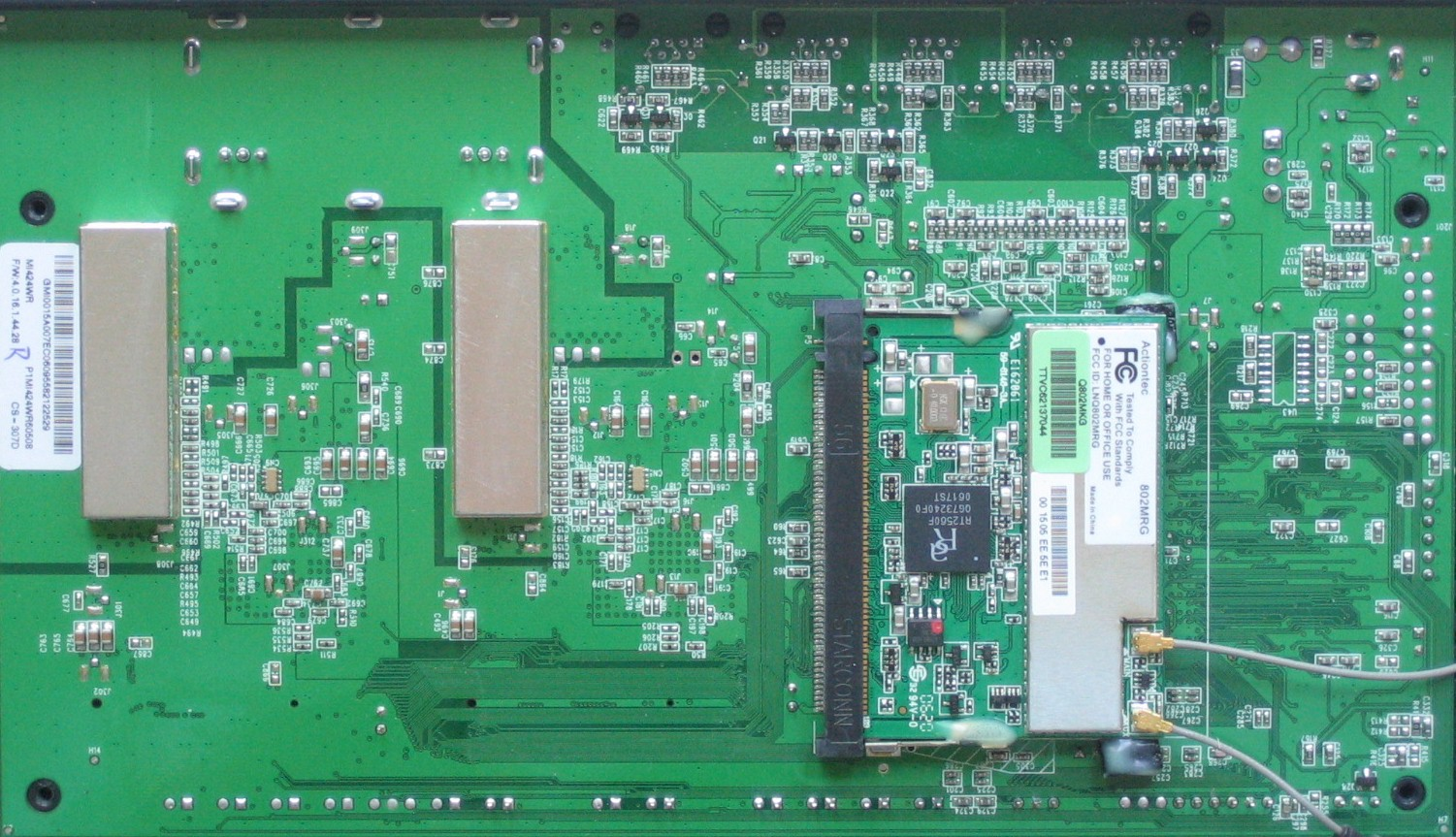 Actiontec Mi424wr Review Able Partner For Verizon Fios Wiring Diagram Board Bottom