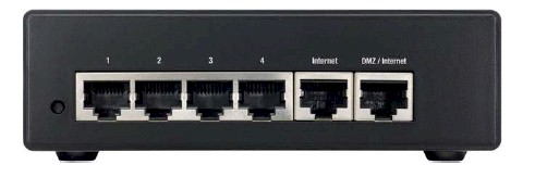 Cisco RV042 rear