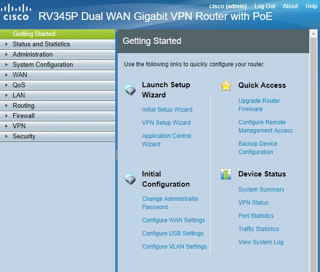 Cisco RV-345P Dual WAN Gigabit PoE VPN Router Reviewed - SmallNetBuilder