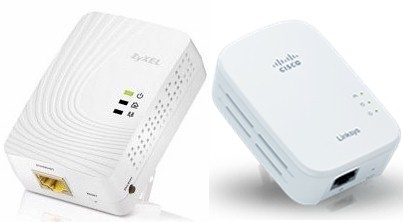 The HomePlug AV 500 products tested