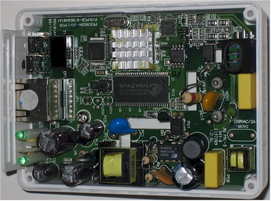 Plaster Networks AV200 board