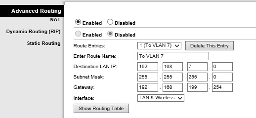 Static Routes on a Router