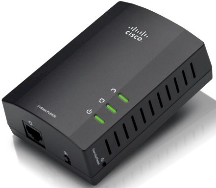 Linksys Powerline AV 1-Port Network Adapter