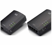 Cisco Linksys PLE400 and PLS400 Powerline AV adapters