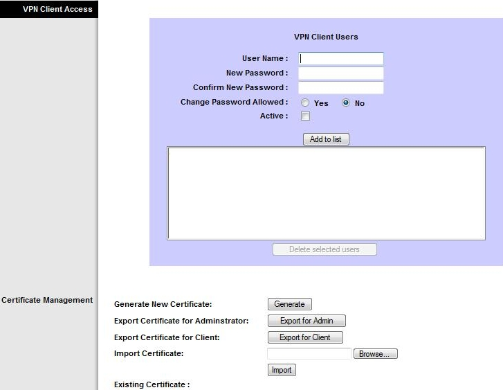linksys quickvpn client software