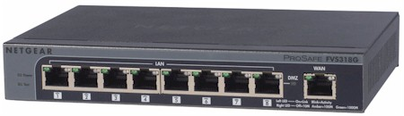 ProSafe 8-port Gigabit VPN Firewall