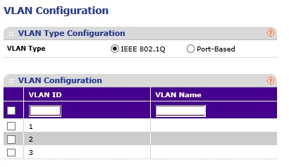 Netgear GS108Tv1 Enable 802.1q vlans