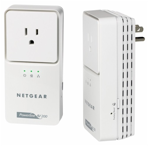 NETGEAR XAVB2501 Powerline AV+ 200 Ultra Adapter Kit