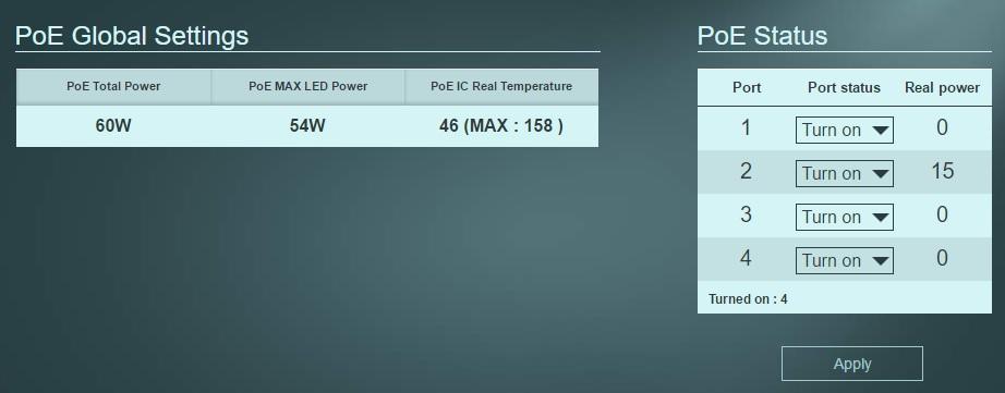 ZyXEL GS1200-8HP 8-Port Web Managed PoE Gigabit Switch