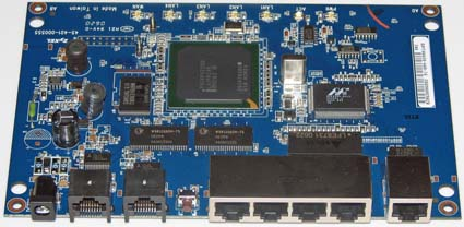 Zywall 2plus board