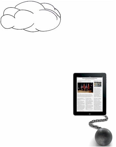 iPad can't get to the cloud