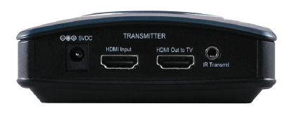 Actiontec MyWirelessTV transmitter rear panel
