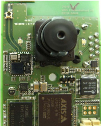 ARTPEC-B processor of the Axis M1011-W