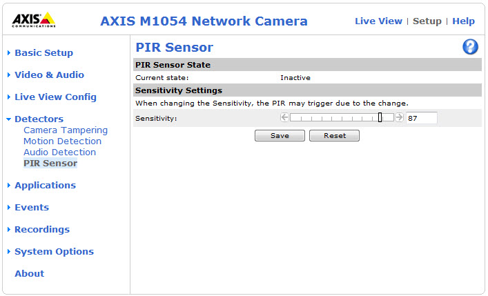 AXIS M1054 HD Network Camera Reviewed - SmallNetBuilder - Page #1