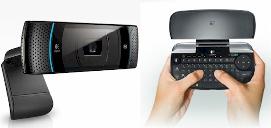 Logitech TV Cam and Mini Controller