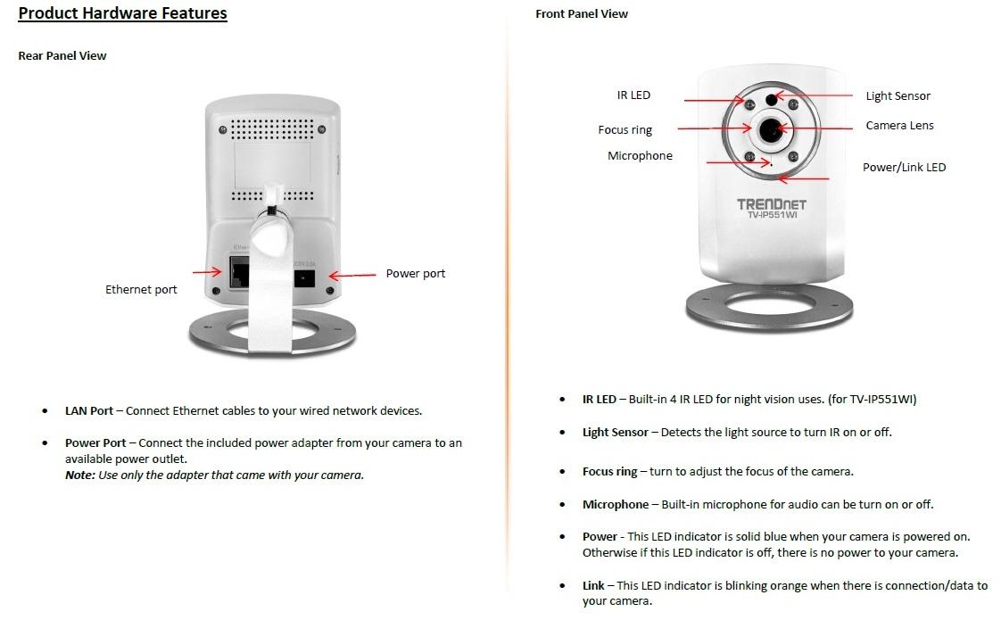 TRENDnet TV-IP551WI Day/Night Network Camera Reviewed - SmallNetBuilder