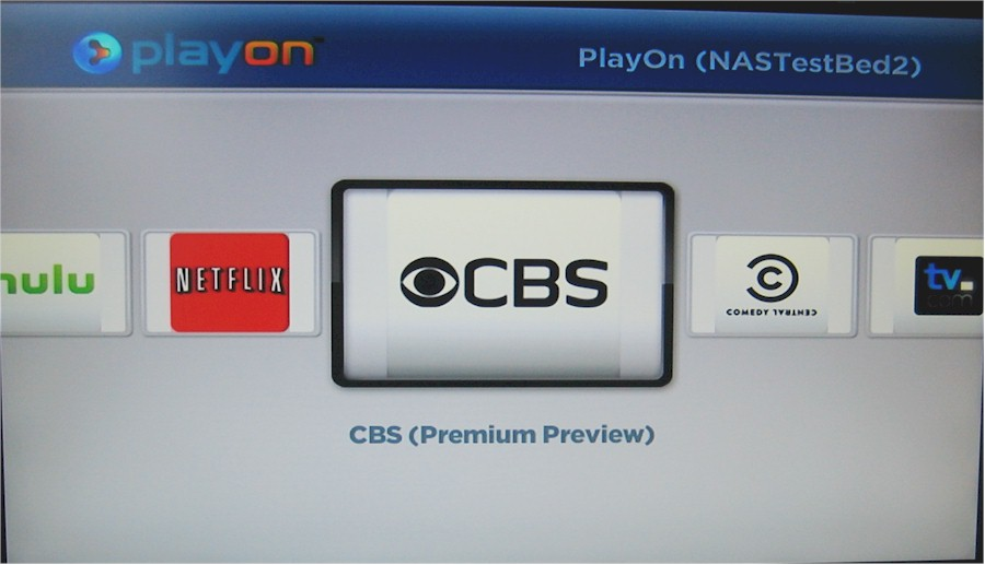 Roku PlayOn app channel listing