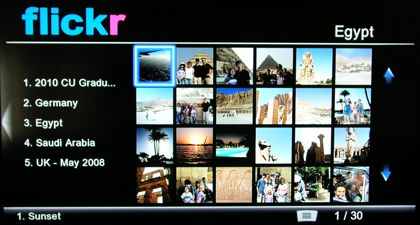 Flickr on the VMP75