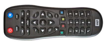 WD TV Live Remote