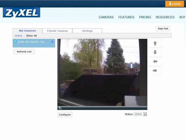Zyxel IPC-4605N CloudEnabled Network Camera Reviewed - SmallNetBuilder