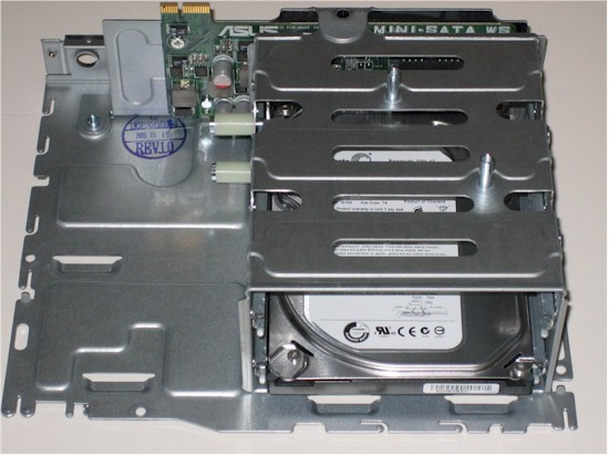 ASUS TS mini Drive assembly