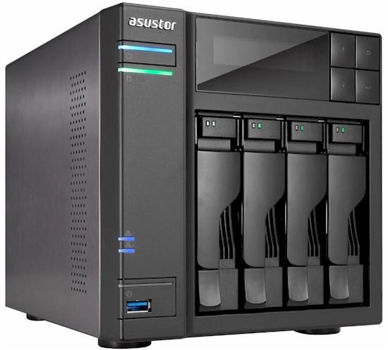 4-bay Network-attached Storage Server