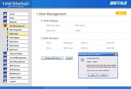 Buffalo LinkStation Pro Duo Review - SmallNetBuilder