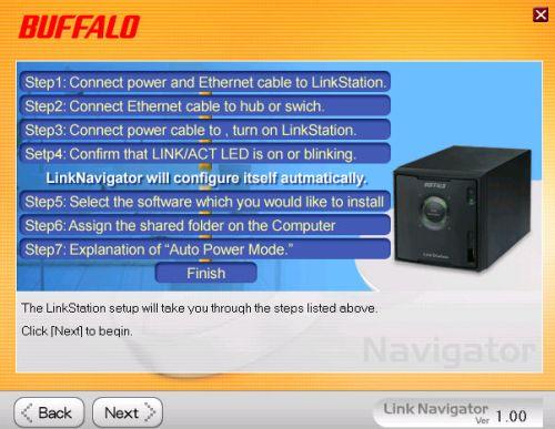 Low Cost, Four Drive RAID 5 : Buffalo LinkStation Quad