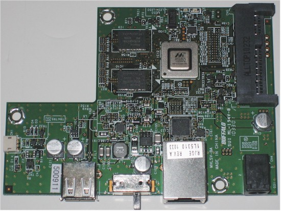 Buffalo LinkStation LS-V1.0TL board