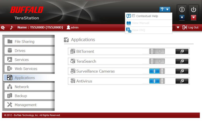 Buffalo TeraStation NAS System Reviewed - SmallNetBuilder