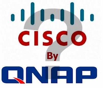 Is QNAP OEMing Cisco's NSS 300 line?
