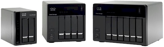 Cisco NSS300 Smart Storage Series