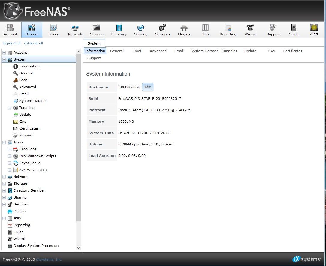 iXsystems FreeNAS Mini Second Generation Reviewed - SmallNetBuilder