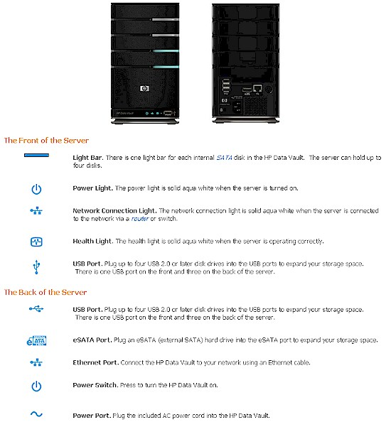 HP StorageWorks Data Vault X510 Reviewed - SmallNetBuilder