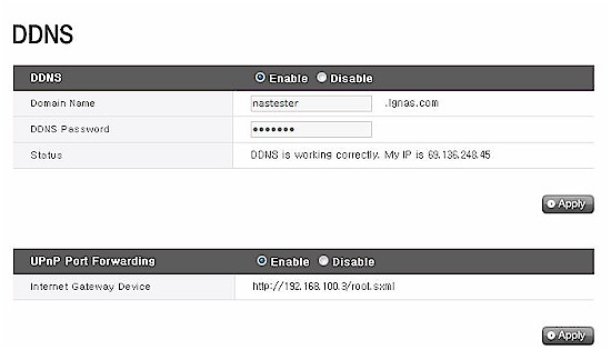 DDNS and UPnP Port Forwarding Setup